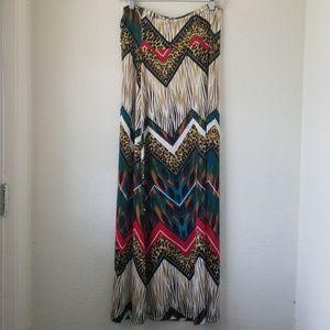 NWT Moa Maxi Skirt Boutique Brand